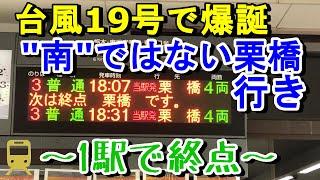 【1駅で終点】東武日光線 南栗橋始発栗橋行きに乗車!