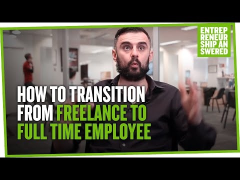 How to Transition from Freelance to Full Time Employee