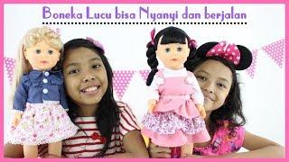 Mainan Anak Boneka Lucu ♥ Kids Play with Talking Walking Doll