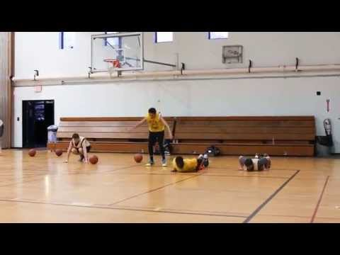 Explosive Basketball Burpees - Quickness and Strength Drill