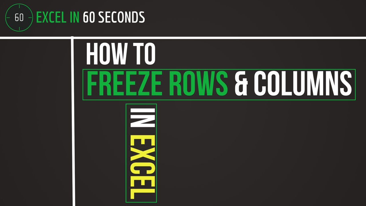 how to keep rows together in excel