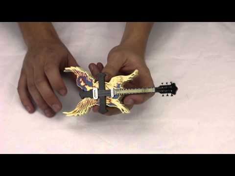 Light-Up Angel Guitar Butane Soft Flame Lighter - Buylighters.com