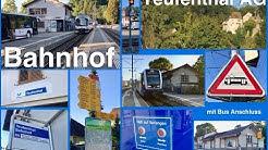 Railway & Bus Station befor Modification / Bahnhof Teufenthal vor Umbau