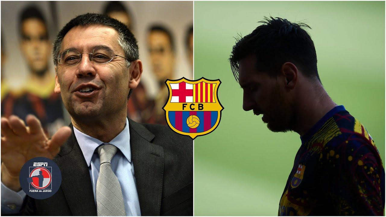 LO ÚLTIMO Lionel Messi y Bartomeu siguen sin dar la cara. ¿Messi se va o se queda? | Fuera de Juego