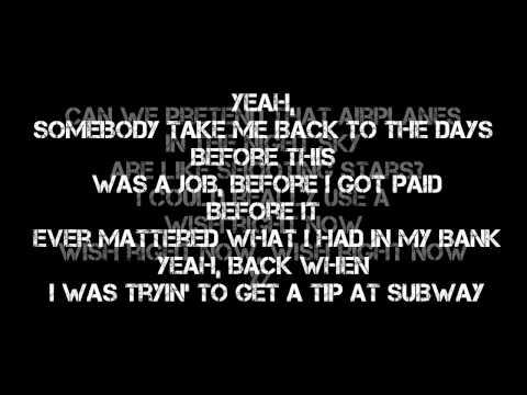 B.o.B - Airplanes Lyrics (New Music 2012)