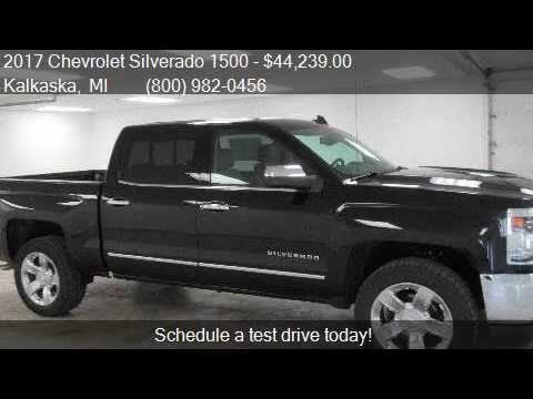 2017 chevrolet silverado 1500 1lz ltz 4x4 crew cab short for Voice motors kalkaska michigan