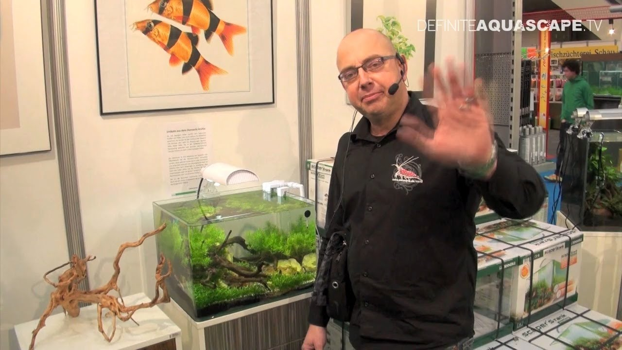 Aquascaping Planted Aquarium Products From Dennerle Heimtiermesse 2013 Hannover Youtube