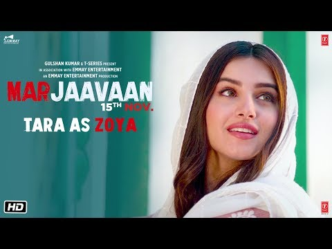 Marjaavaan: TARA AS ZOYA (Making) | Riteish D, Sidharth M, Tara S | Milap Zaveri | 15 Nov