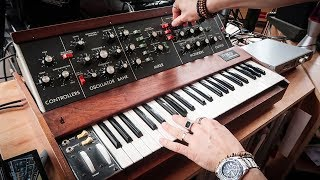 My Incredible 1972 Minimoog In Action