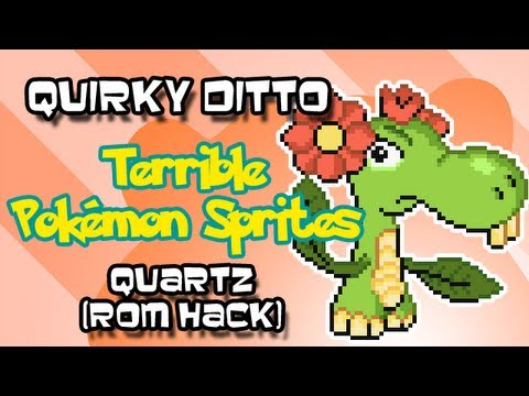 Quirky Ditto Terrible Pok 233 Mon Sprites Quartz Rom Hack