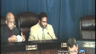 City Council Meeting - 7/26/11
