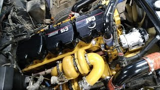 CATERPILLAR C-15 ACERT MXS ENGINE REBUILT by PETE CHOPRA.