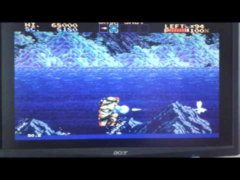 Thunderforce 4 - Test Stage 1 ( Megadrive )