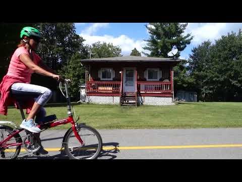 Vélo au Québec - Véloroute d'Argenteuil