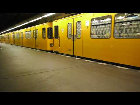 U-Bahn Berlin Bahnhof Rohrdamm U7 [1080p]