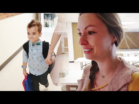Emotional First Day of School!