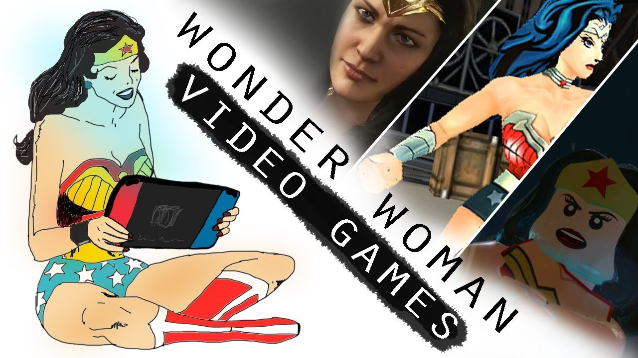 Every Wonder Woman Appearance In Video Games 1995-2018
