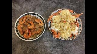 一次完成兩道料理 奶油螃蟹+奶油蝦就是這麼好做!