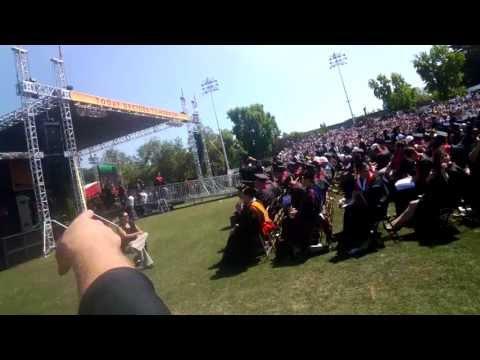 My College Graduation Through Glass: Chico State