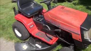 Very COMMON MTD Riding Lawnmower PROBLEM  WON'T START  - Blade Engagement Safety Switch