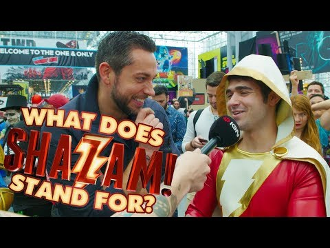 Zachary Levi Asks : What Does SHAZAM Stand For?  IGN Access