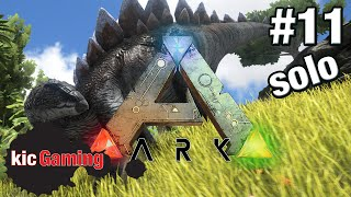 Let's Play ARK: Survival Evolved single player survival Ep 11 - Ride a dinosaur