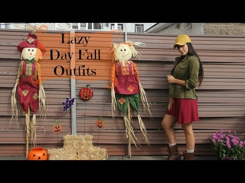 Lazy Day Fall Outfits | Everyday Fall Look Book