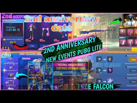 Pubg Mobile Lite 2nd Anniversary Date And Leaks Of New Winner Pass //Samsung Para A1, A3, A4, A5, A7