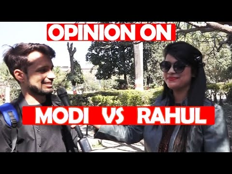 Modi vs Rahul Public Opinion