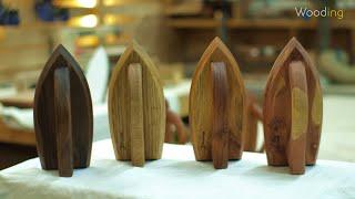 원목 찬다리미, 나무다리미 만들기 / Wood Pres…