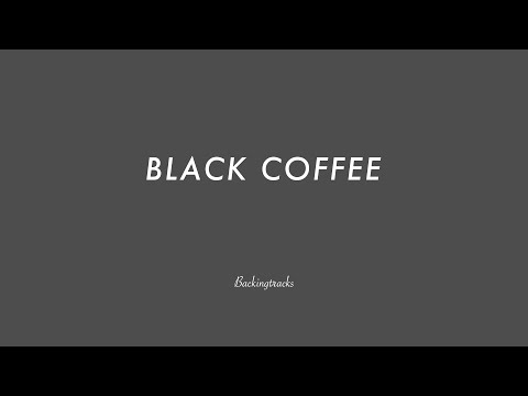 BLACK COFFEE chord progression - Backing Track Play Along Jazz Standard Bible 2