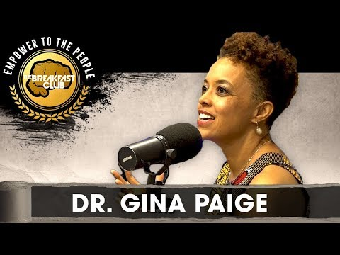 Dr. Gina Paige Shares The Breakfast Club's African Ancestry Lab Results
