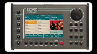 KETRON SD40 Controlled by ROLAND A-800