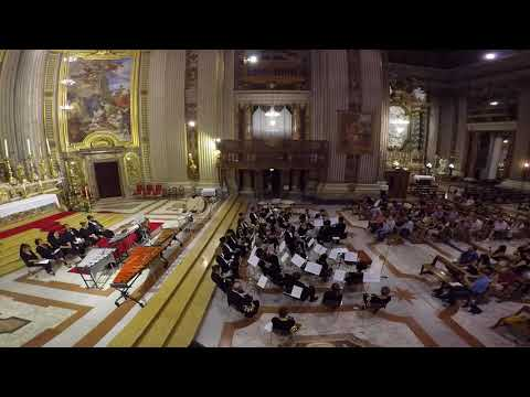 "La Sierra University Saxophone Quartet: ""Peace"" by David Maslanka. San Ignazio Basilica"