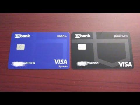 Updated Usbank Cash+Visa Signature & Platinum Visa