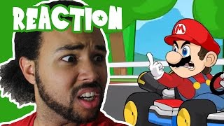 Racist Mario (SSJ Carter Reaction)