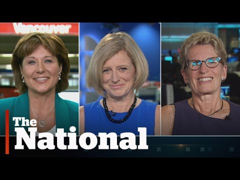 Canada's female premiers on Hillary Clinton and sexism in politics