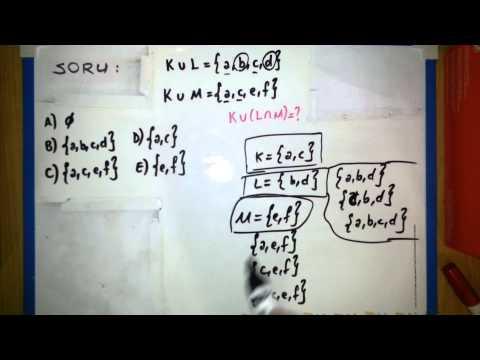 Kümeler Soru Çözümleri - 9