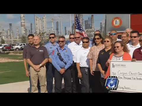 Flint Hill awards grants to first responders