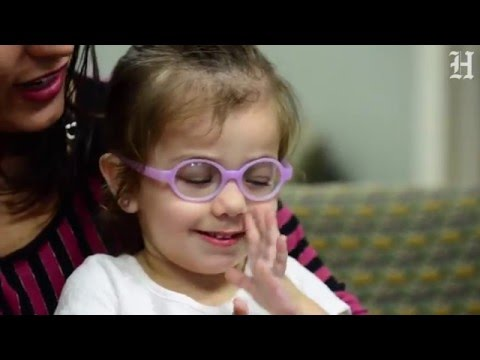 Brazilian girl, 2, can see after surgery at Bascom Institute in Miami
