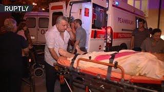 50 человек пострадали в Абхазии в результате взрыва на складе боеприпасов