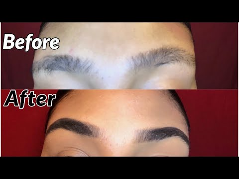EYEBROW TUTORIAL | beginner and budget friendly | my eyebrow routine🤪 thumbnail