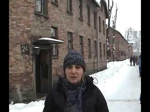 Auschwitz Concentration Camp Tour Holocaust January 2006 Poland