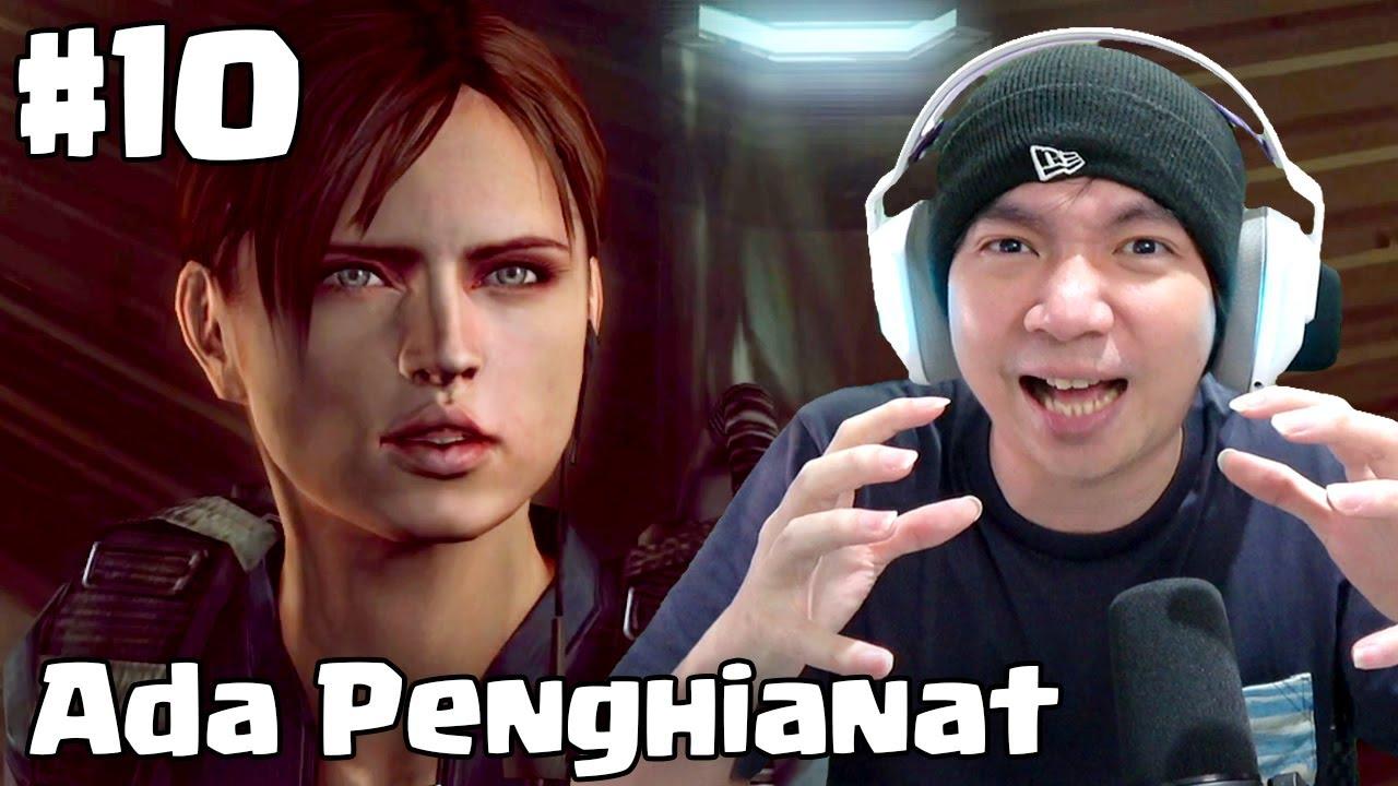 Memang Ada Penghianat - Resident Evil Revelations Indonesia - Part 10