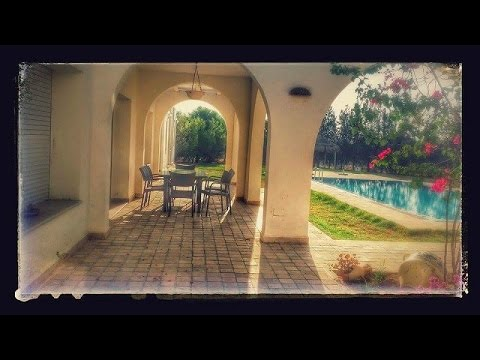 A vendre villa de maitre meubl e avec piscine a jedaida for Villas de jardin seychelles tripadvisor