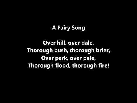 A Fairy Song (William Shakespeare)