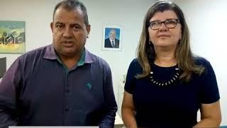TV FENASCE - Presidente da FENASCE com a Secretaria de Saúde de Fortaleza Dra. Joana Maciel
