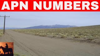 WHAT IS AN APN NUMBER IN LAND INVESTING?