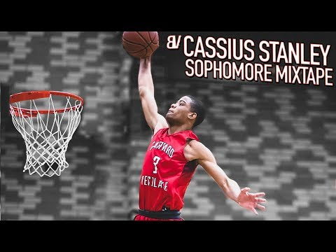 Cassius Stanley Has UNLIMITED BOUNCE! SOPHOMORE YEAR MIXTAPE [#3]