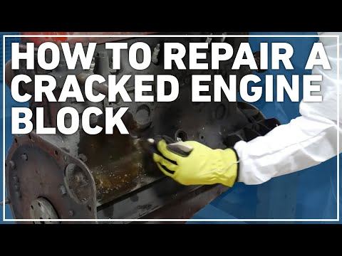 How to Repair a Cracked Engine with Belzona